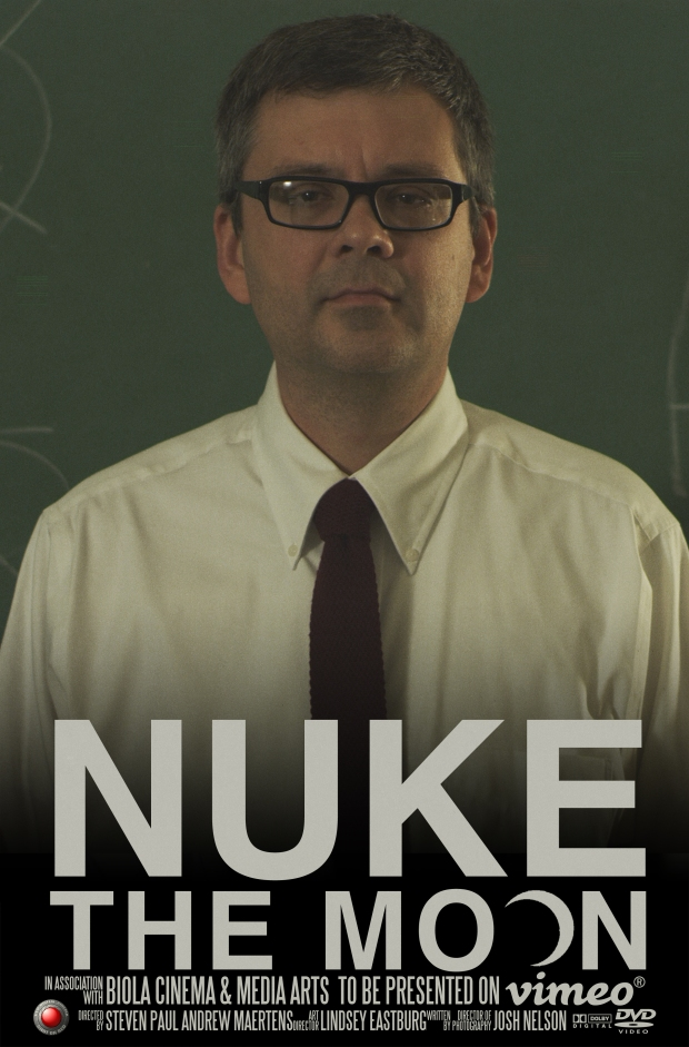 Nuke The Moon Poster Weathers